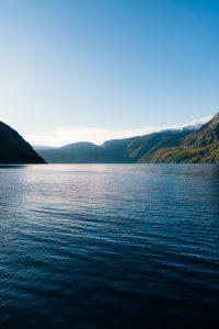 Utsikt utover fjorden